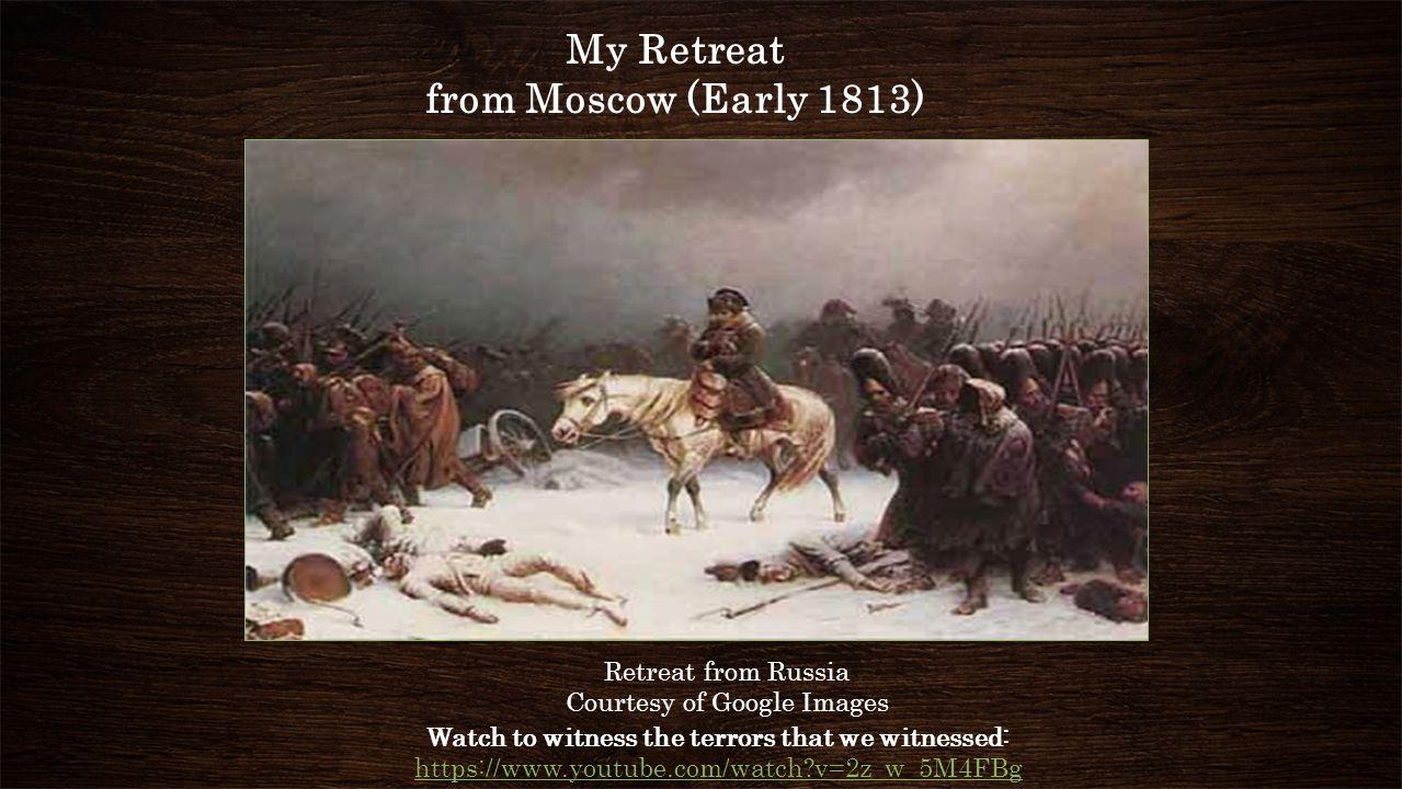 The 6th Coalition France  1813-1814: My (Napoléon's) Defeat  Britain, Russia.