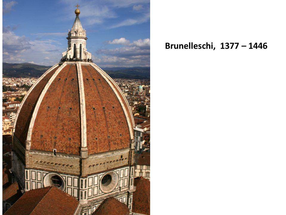 Brunelleschi, 1377 – 1446