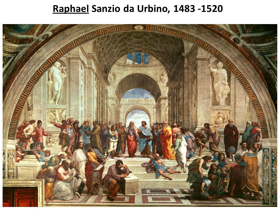 Raphael Sanzio da Urbino, 1483 -1520