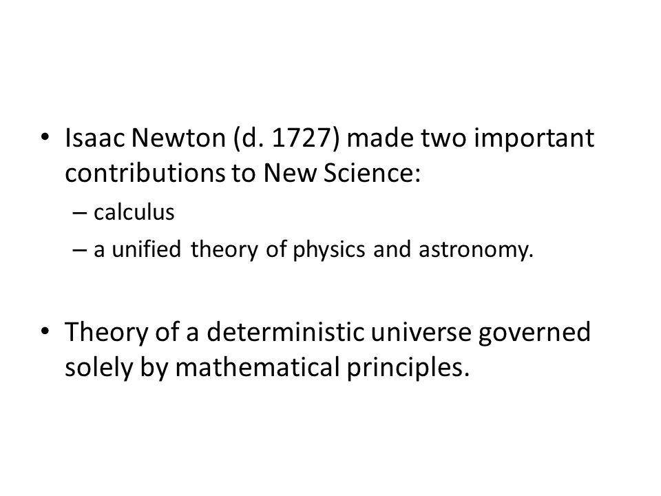 Isaac Newton (d.