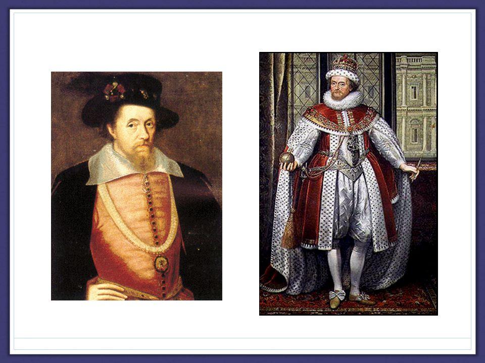 James I [r.1603-1625] Problems he faced:  Large royal debt.