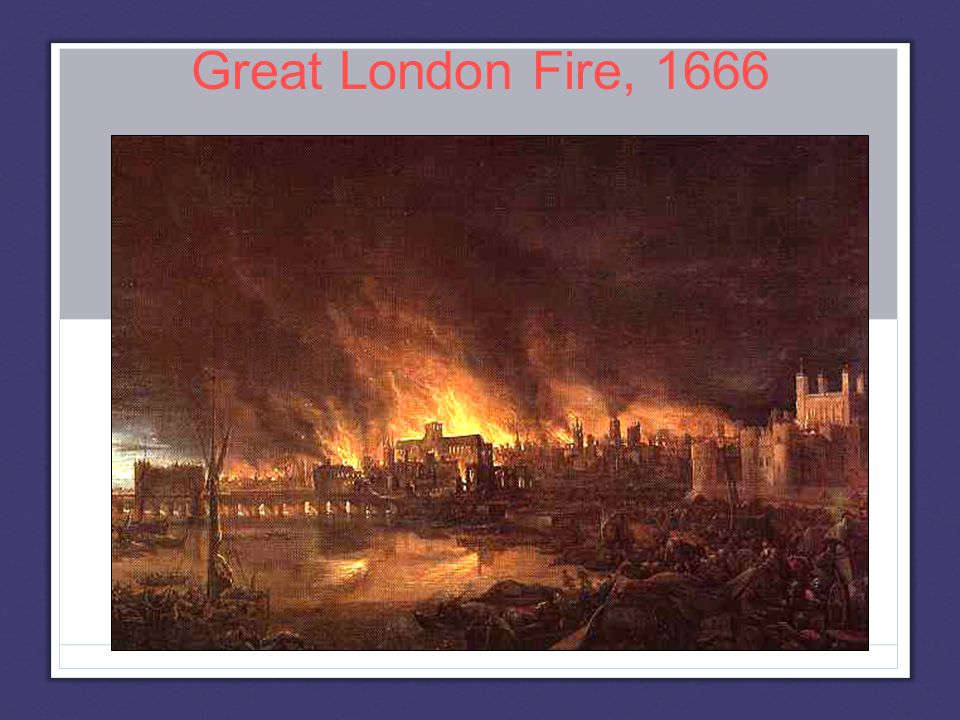 Great London Fire, 1666