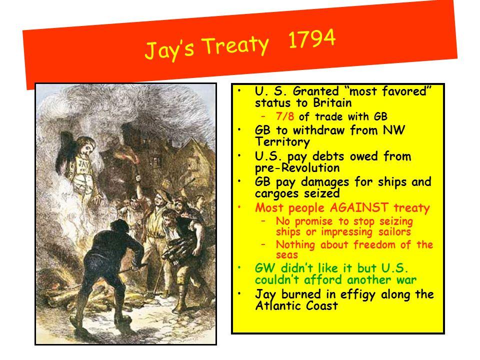 Jay's Treaty 1794 U. S.