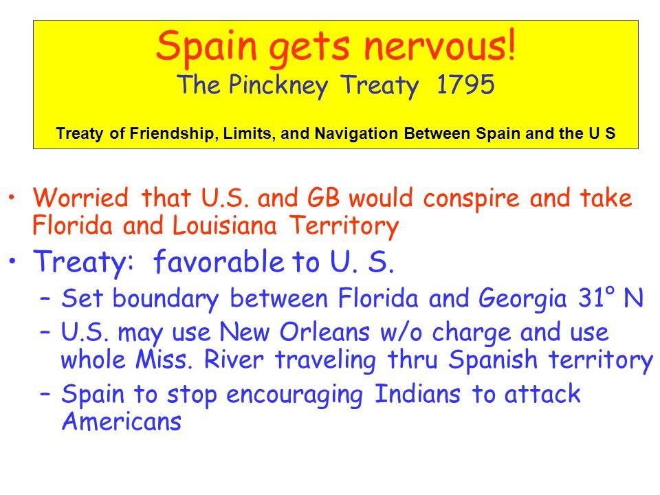 Spain gets nervous.