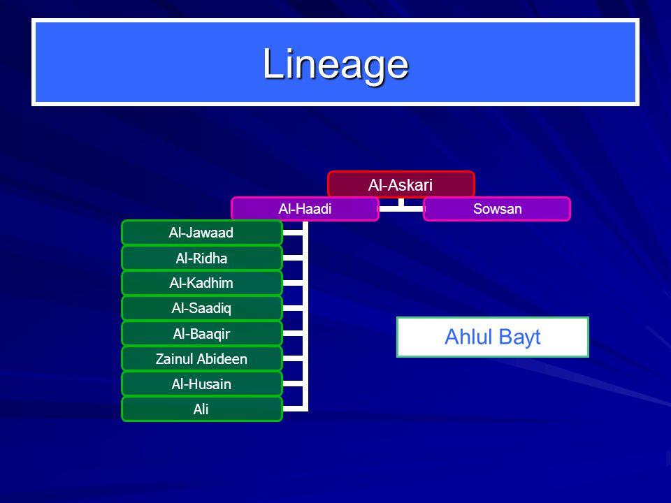 Lineage Ahlul Bayt