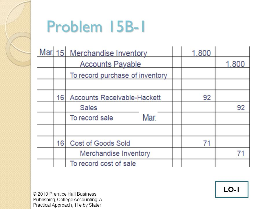 Effects of Inventory Errors Error in ending Inventory in Year 1 affects income statement for two years Year 1 ending Inventory becomes Year 2 beginning Inventory.