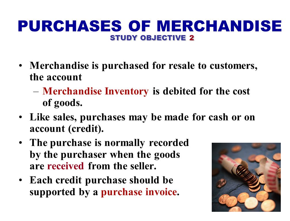 COST OF GOODS SOLD To determine the cost of goods sold under a periodic inventory system: 1) Determine the cost of goods on hand at the beginning of t