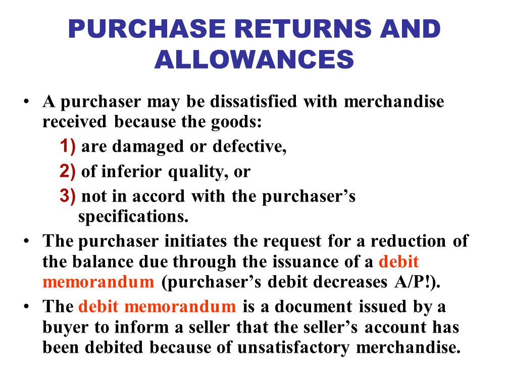 PURCHASES OF MERCHANDISE ON ACCOUNT For purchases on account, Merchandise Inventory is debited and Accounts Payable is credited. 3,800