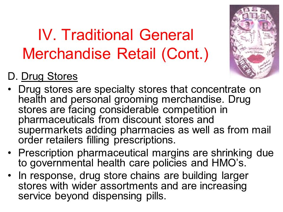 IV.Traditional General Merchandise Retail (Cont.) D.