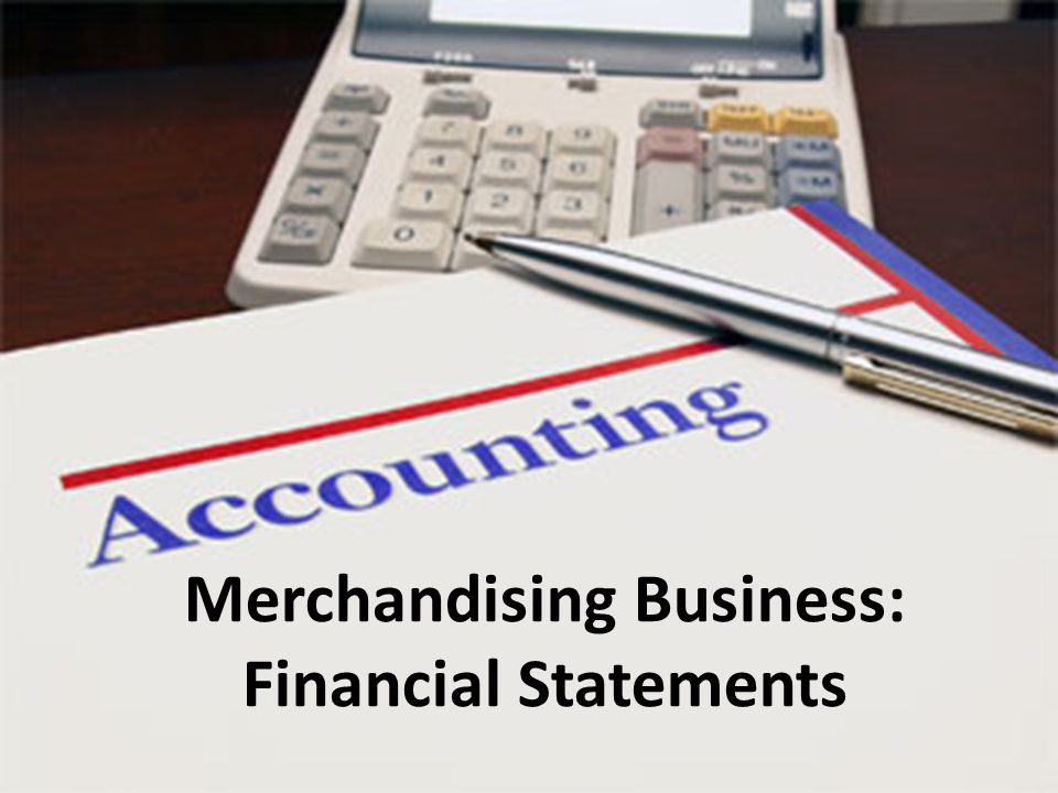 Cost of Goods Sold Merchandising businesses have the extra cost of inventory compared to service businesses This is an Income Statement amount called Cost of Goods Sold aka COGS
