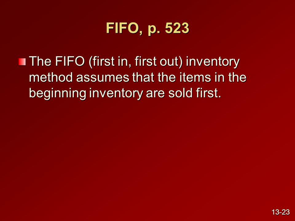 FIFO, p.