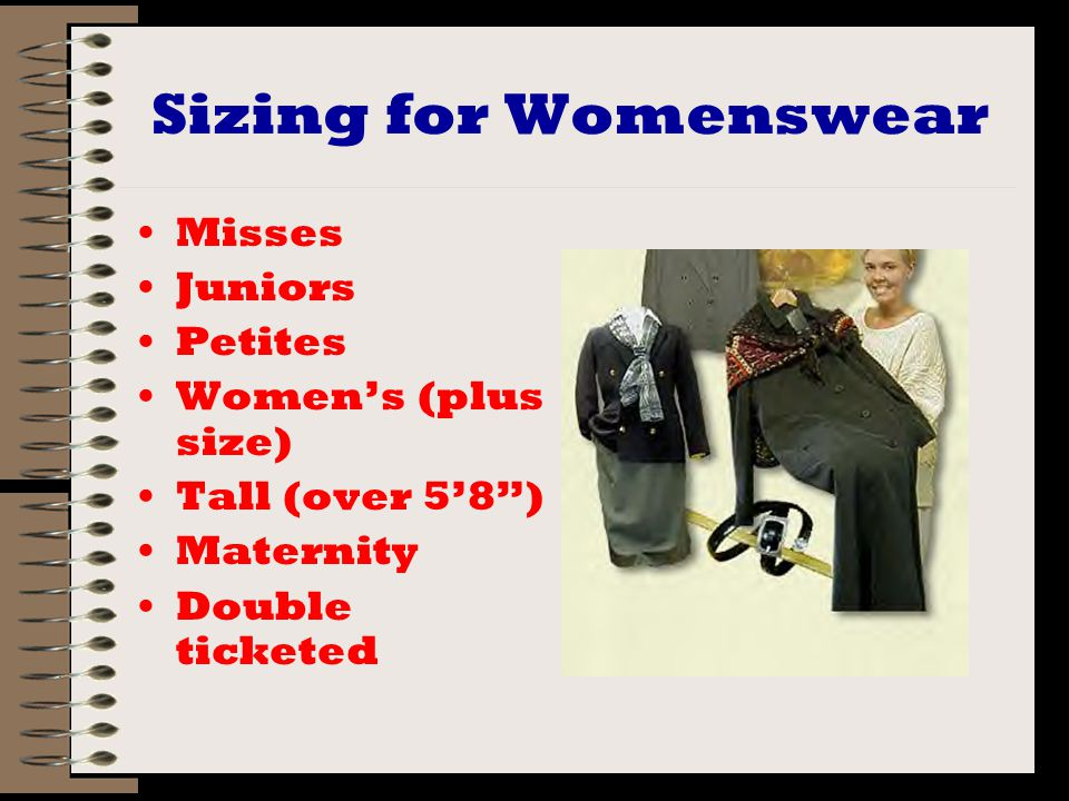 Misses Fuller figure Longer waisted Sizes even numbers 0 to 20