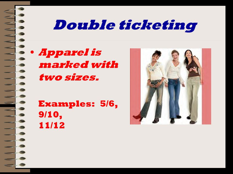 Sizing for Menswear Tailored clothing Shirts Pants
