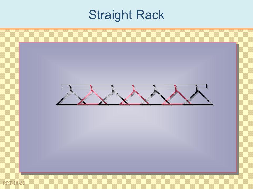 PPT 18-33 Straight Rack