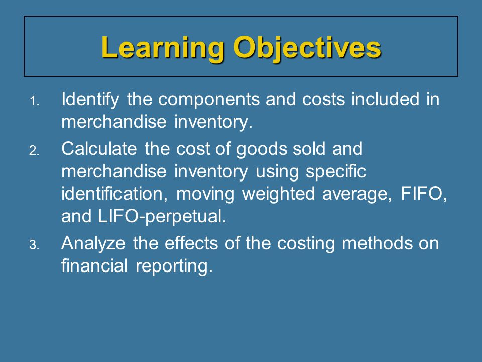 Specific Identification — Example This results in two layers of inventory.