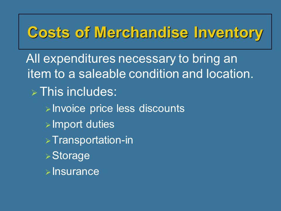  Management must decide on method of determining unit cost.