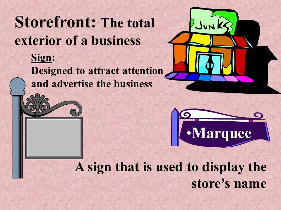 Elements of Visual Merchandising Storefront Store layout Store interior Interior displays