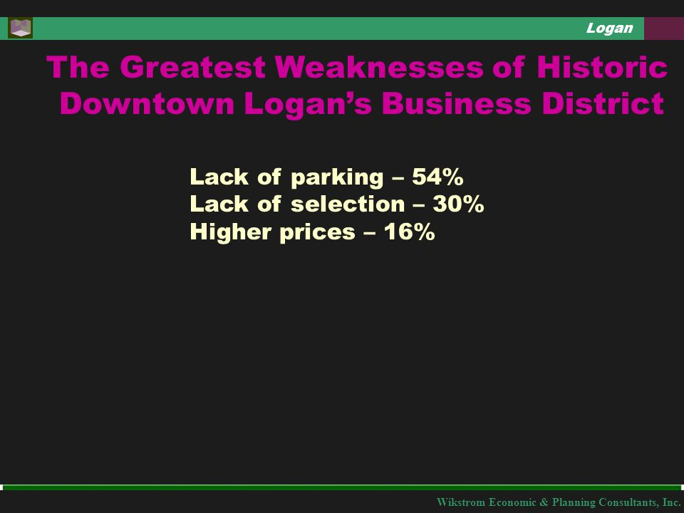 Wikstrom Economic & Planning Consultants, Inc.