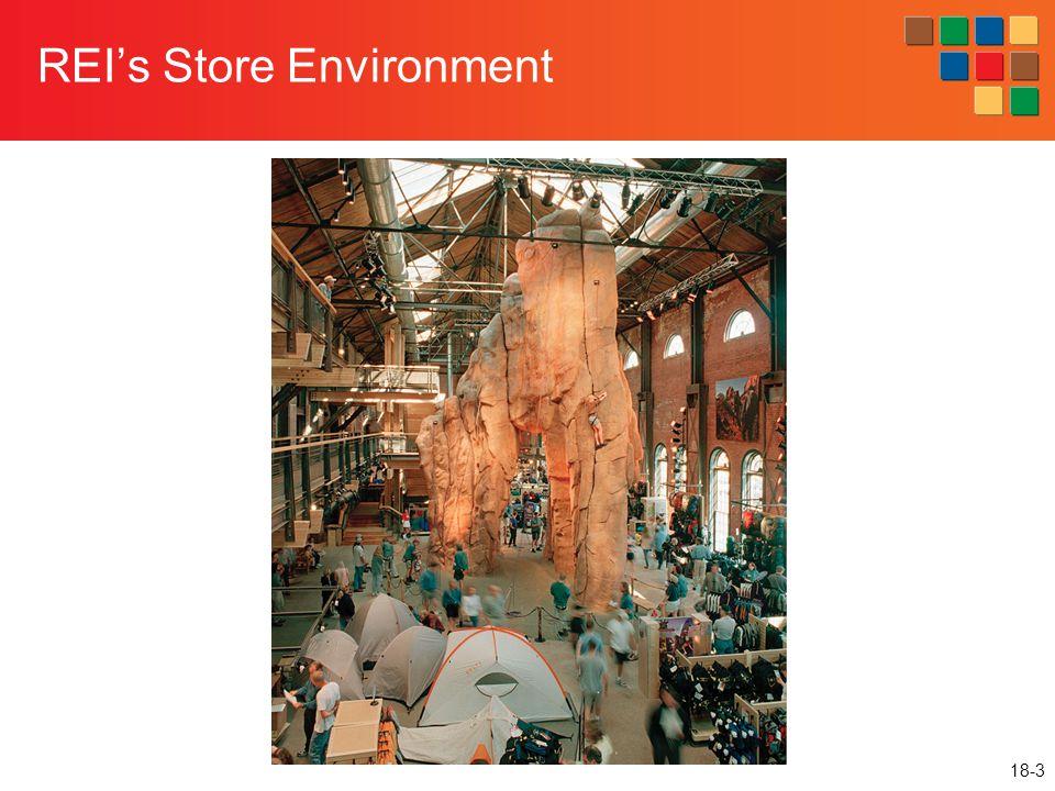 18-3 REI's Store Environment