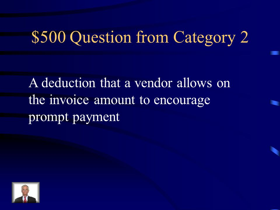 $400 Answer from Category 2 General Journal