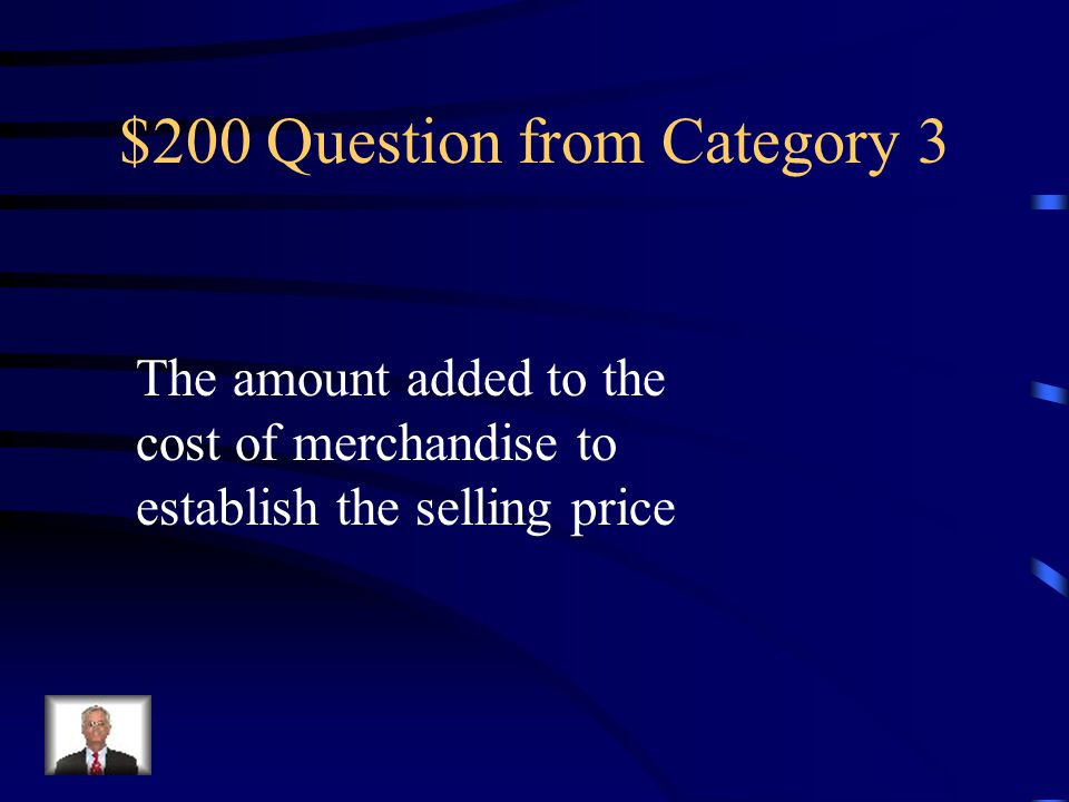 $100 Answer from Category 3 Cash Short