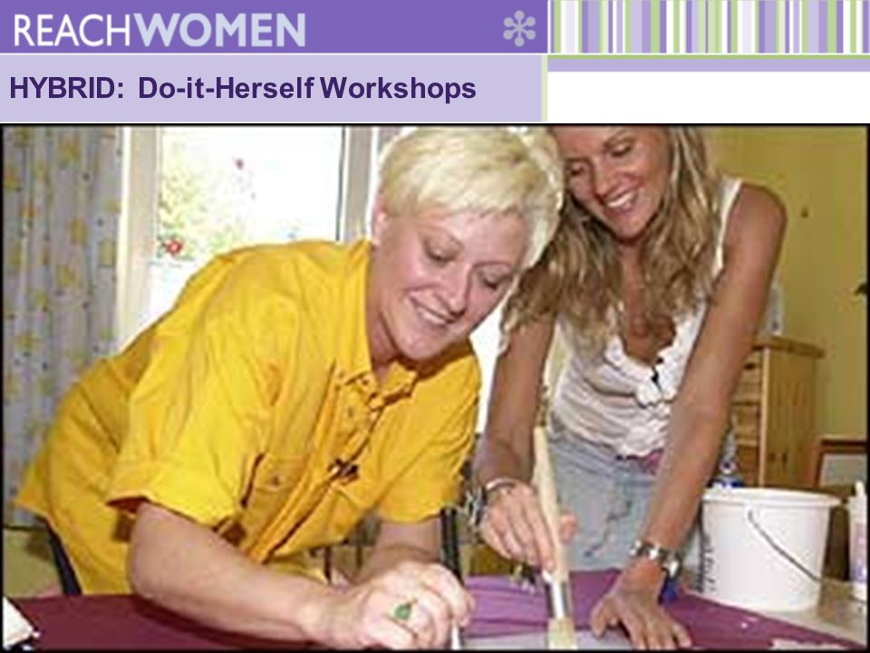 HYBRID: Do-it-Herself Workshops
