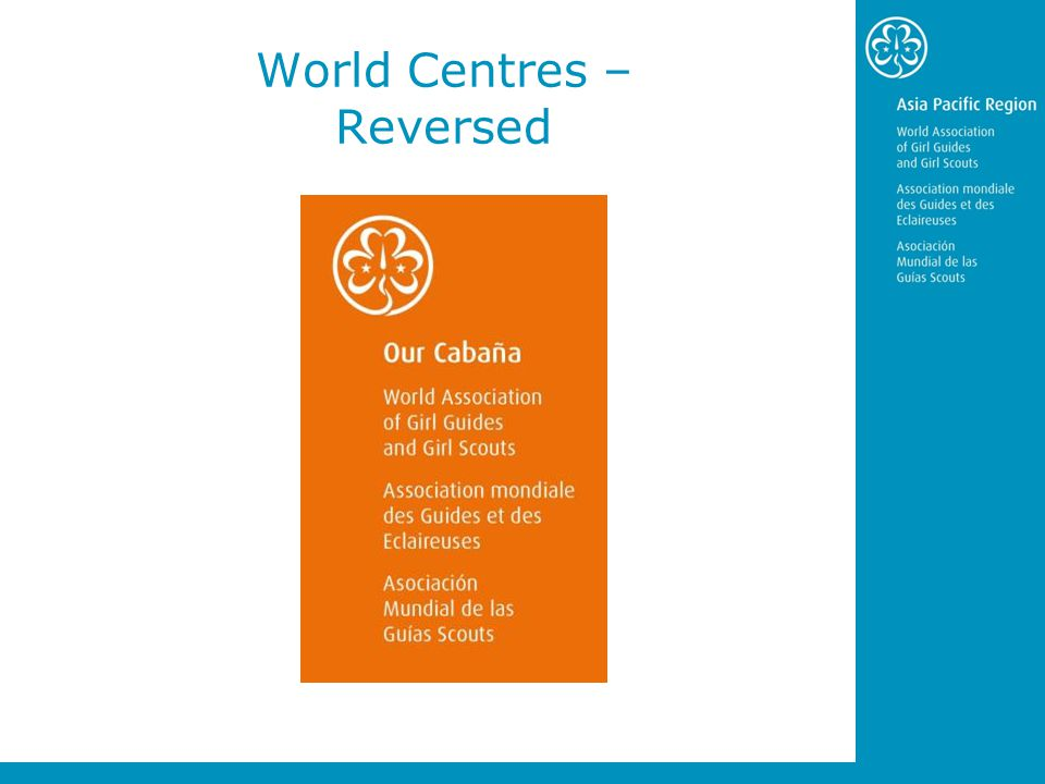 World Centres – Reversed