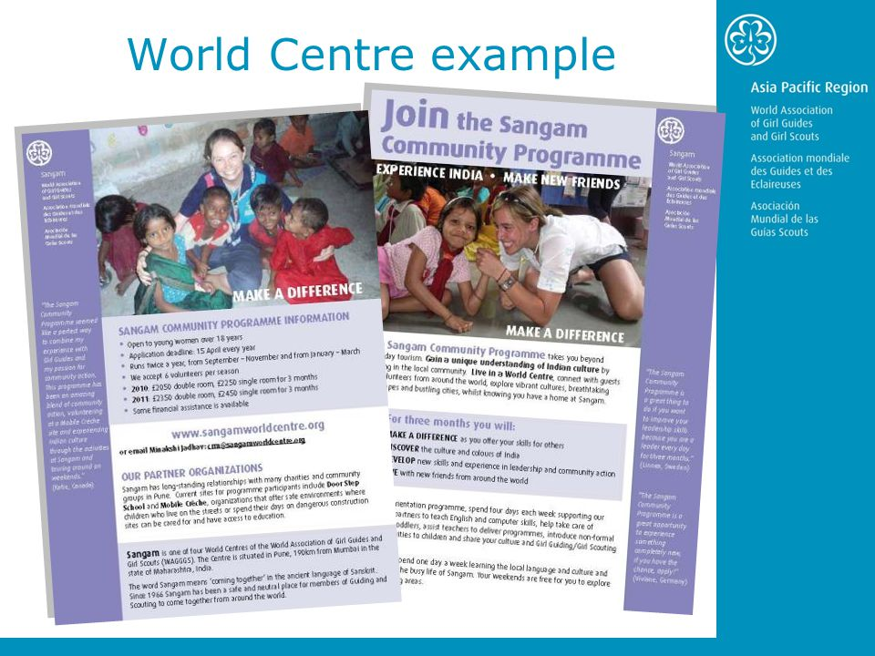 World Centre example