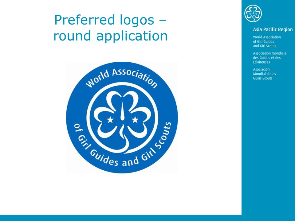 Preferred logos – round application
