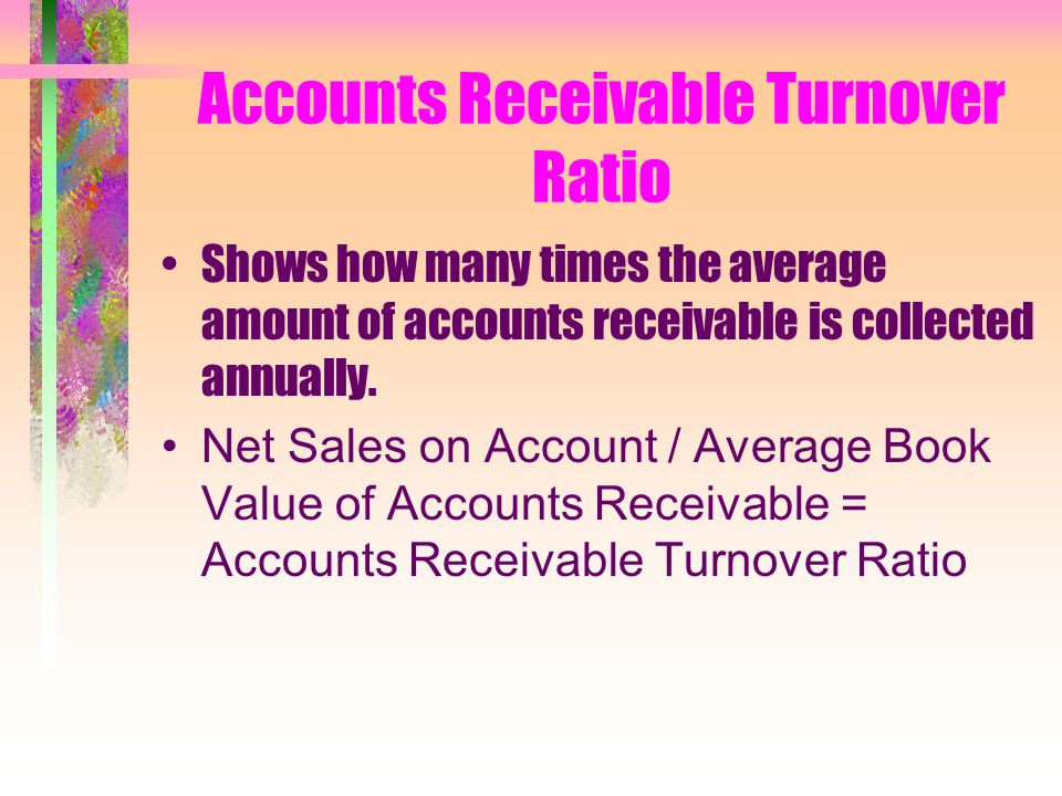 Efficiency Analysis Accounts Receivable Turnover Ratio Average Number of Days for Payment Merchandise Inventory Turnover Ratio