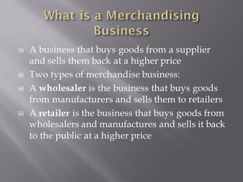 Revenue – The business needs to subtract all of the credit that they gave to customers: Sales – Sales Returns and Allowances = Net Sales Cost of Goods Sold – The business needs to subtract all of the merchandise that they purchased but returned because it was not satisfactory to them: Purchases – Purchase Returns and Allowances = Net Purchases