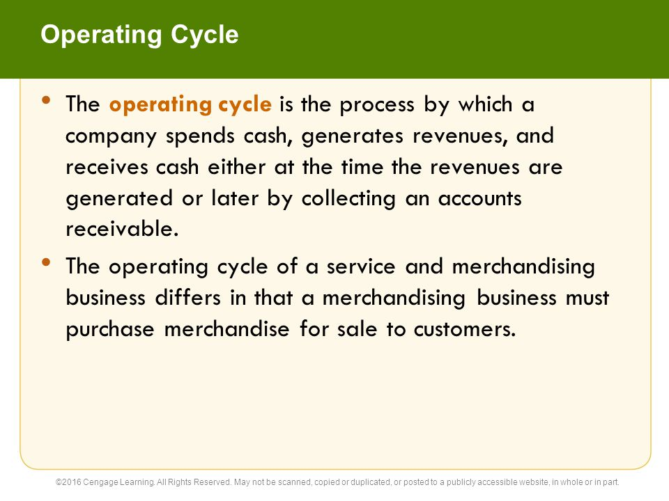 Financial Statements (slide 1 of 2) The differences between service and merchandising businesses are also reflected in their financial statements.
