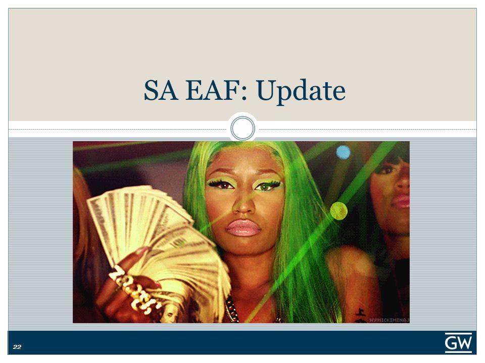 22 SA EAF: Update