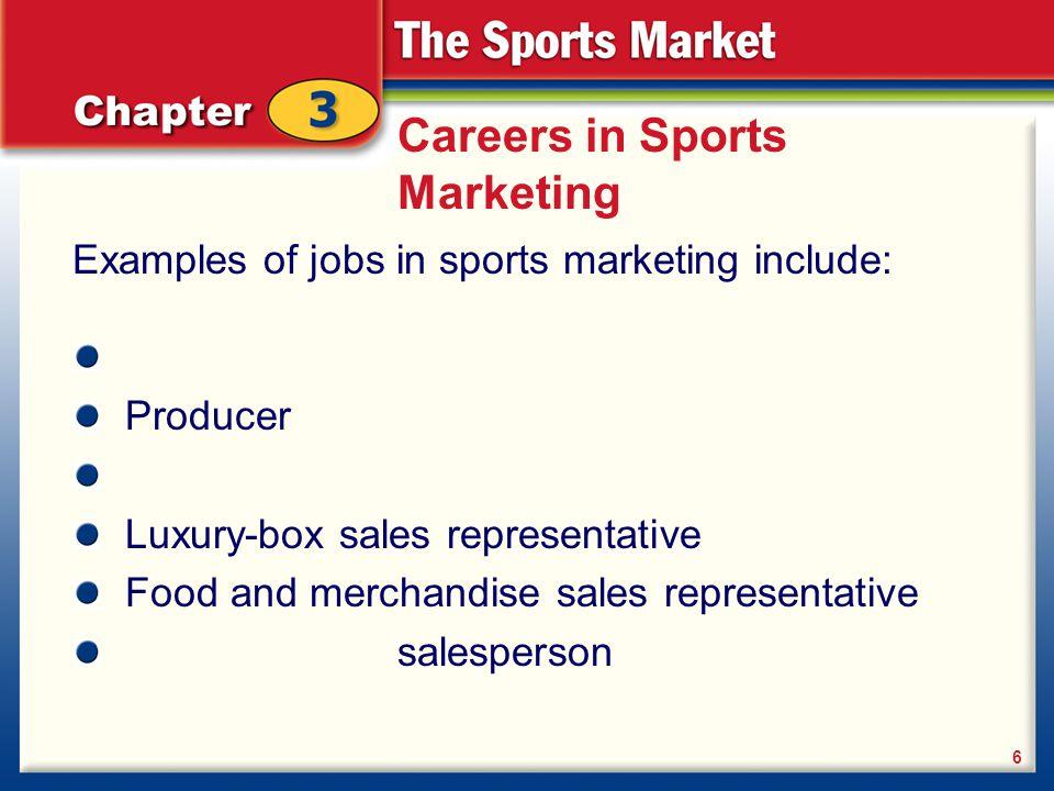 Define sports marketing.