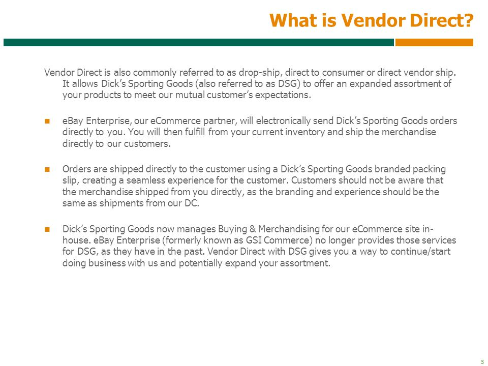 4 4 What are the Benefits of Vendor Direct.