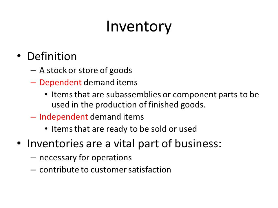 A-B-C approach – Classifying inventory according to some measure of importance, and allocating control efforts accordingly – A items (very important) 10 to 20 percent of the number of items in inventory and about 60 to 70 percent of the annual dollar value – B items (moderately important) – C items (least important) 50 to 60 percent of the number of items in inventory but only about 10 to 15 percent of the annual dollar value MIS 373: Basic Operations Management15 ABC Classification System