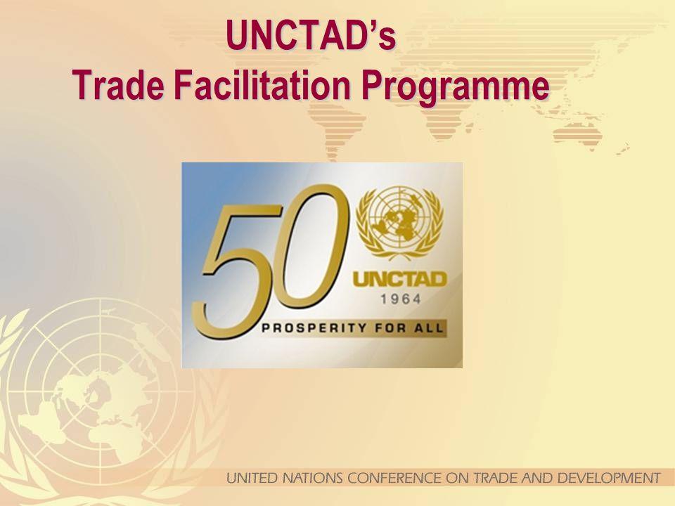 UNCTAD's Trade Facilitation Programme