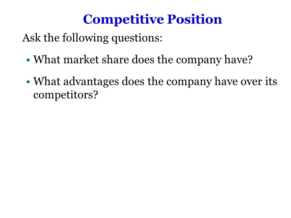 Assignment: Using the scenario below, conduct the internal portion of a SWOT analysis.