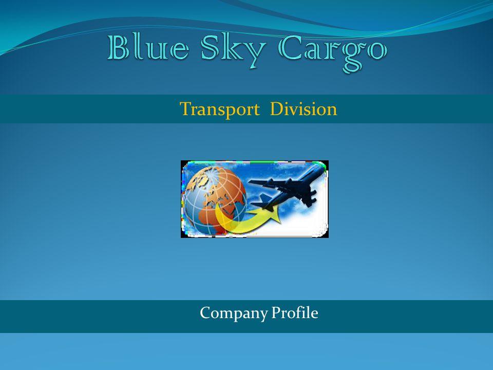 Company Profile Transport Division
