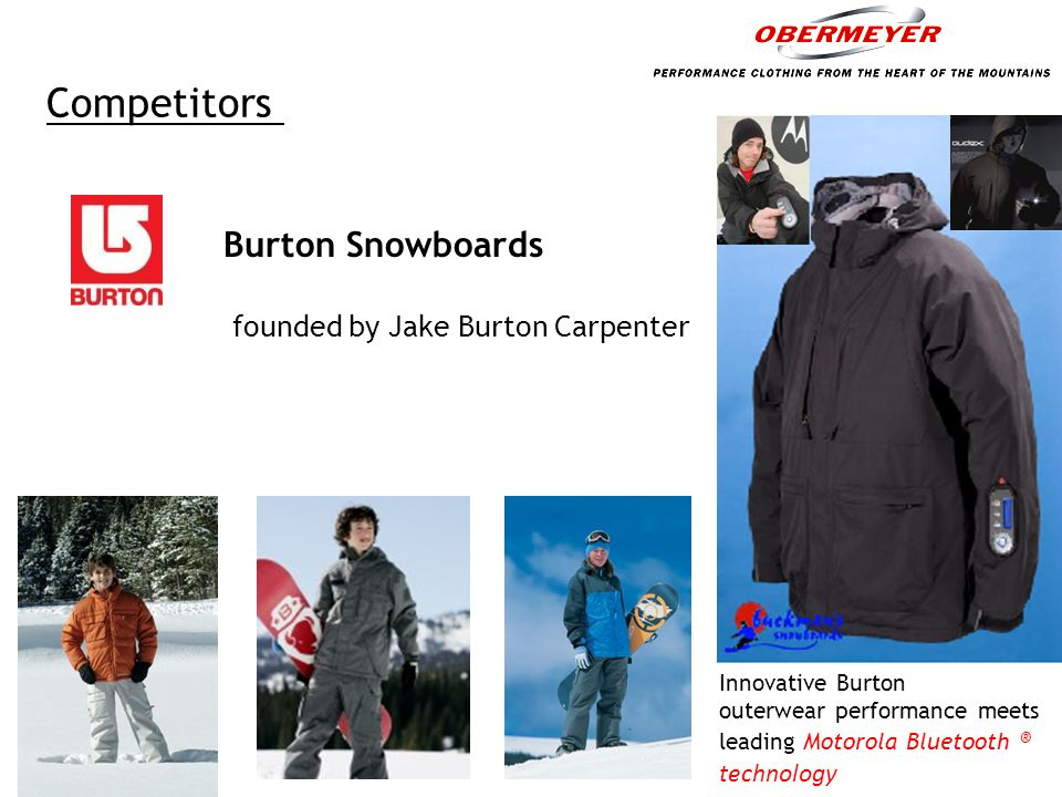 Sport Obermeyer Sport Obermeyer – a high end fashion skiwear designer and merchandising company Commitment for producing line of fashion skiwear for 1993-94 Long lead times:  Long lead times: It's November 1992 and the company is starting to make firm commitments for its 1993 – 1994 season.