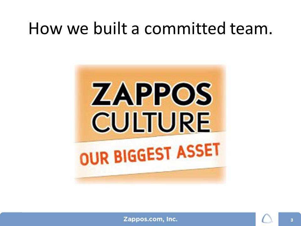 Cultural Assessment 14 Yearly assessment Conducted by manager Based on our Core Values