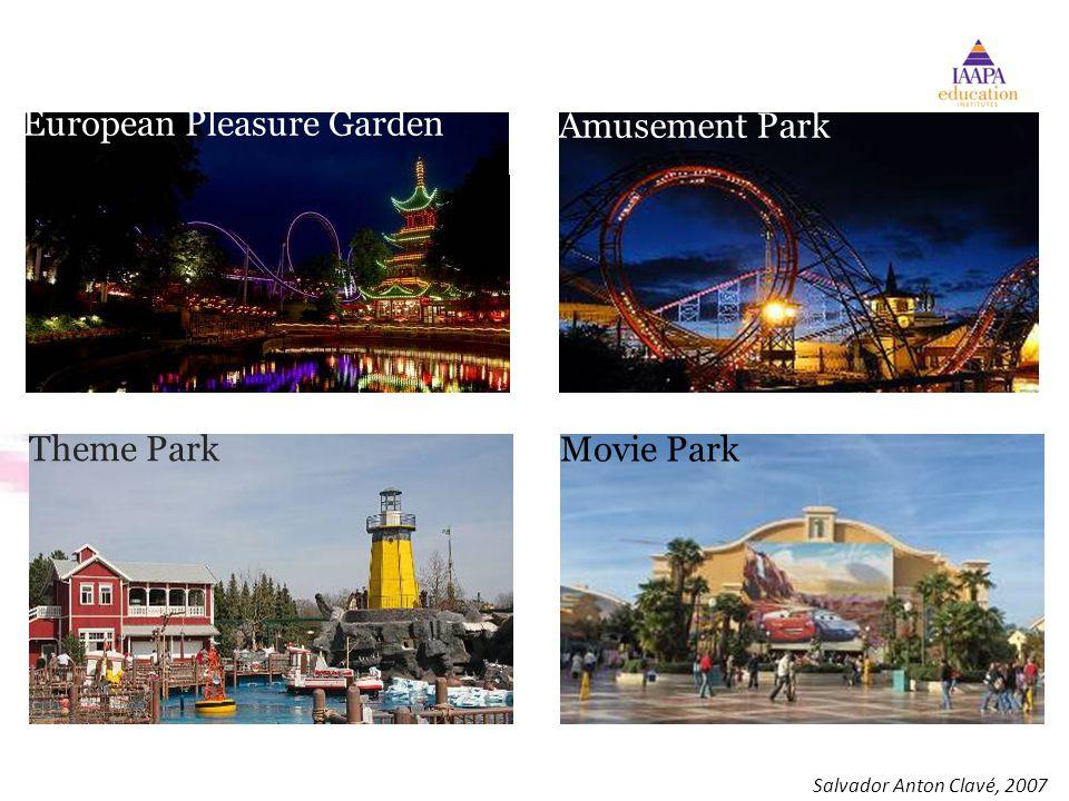 European Pleasure Garden Theme Park Amusement Park Movie Park Salvador Anton Clavé, 2007
