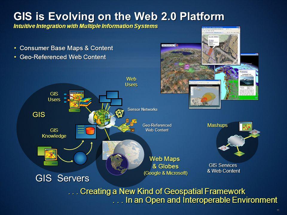 11... Creating a New Kind of Geospatial Framework...
