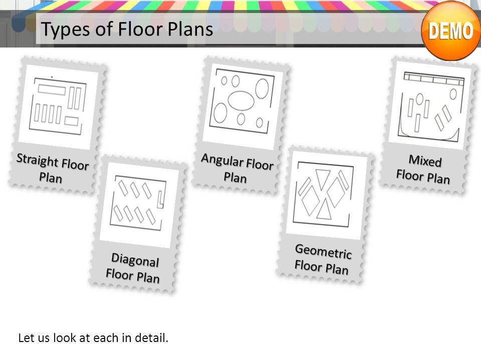 Types of Floor Plans Let us look at each in detail.