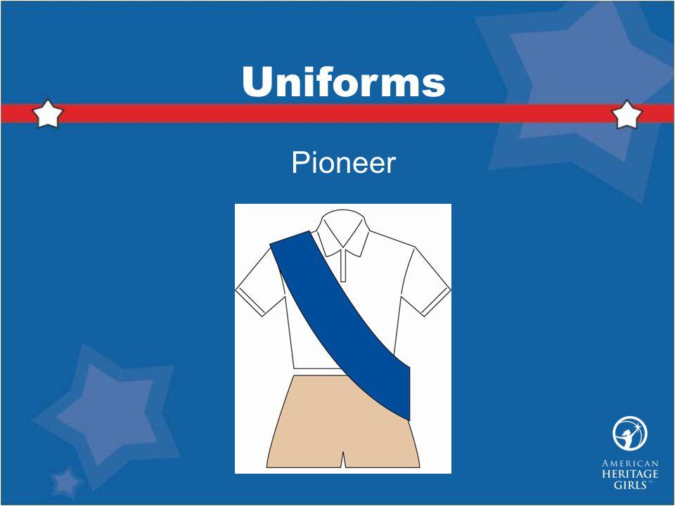 Uniforms Pioneer