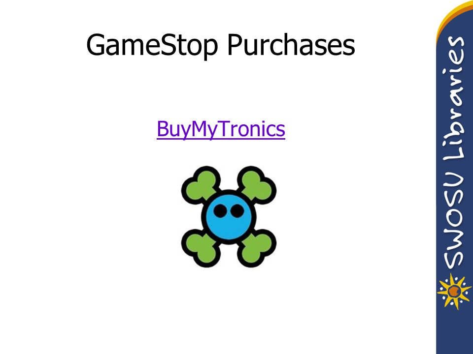 GameStop Purchases BuyMyTronics