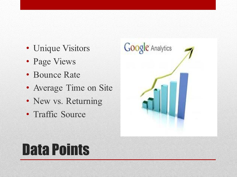 Google Analytics For The Period (January 1 st 2012 – October 31 st 2012 The company has indicated there were no campaigns during the year 2012, giving them more time to invest in market research.