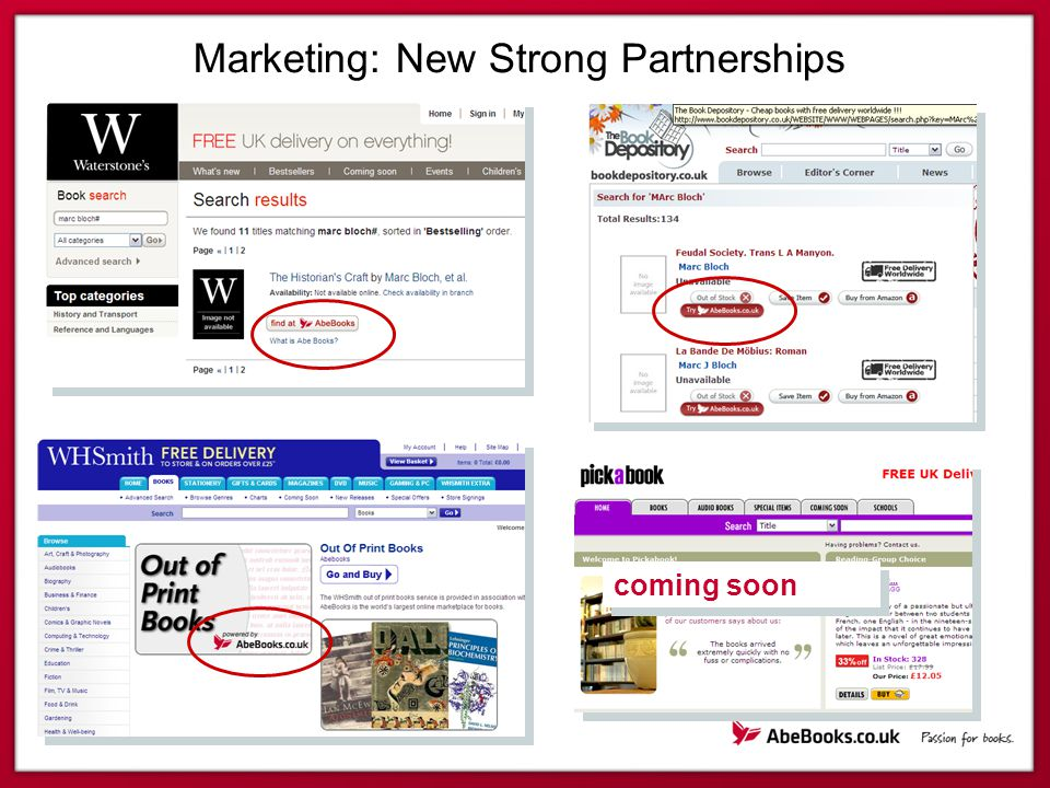 Marketing: New Strong Partnerships coming soon
