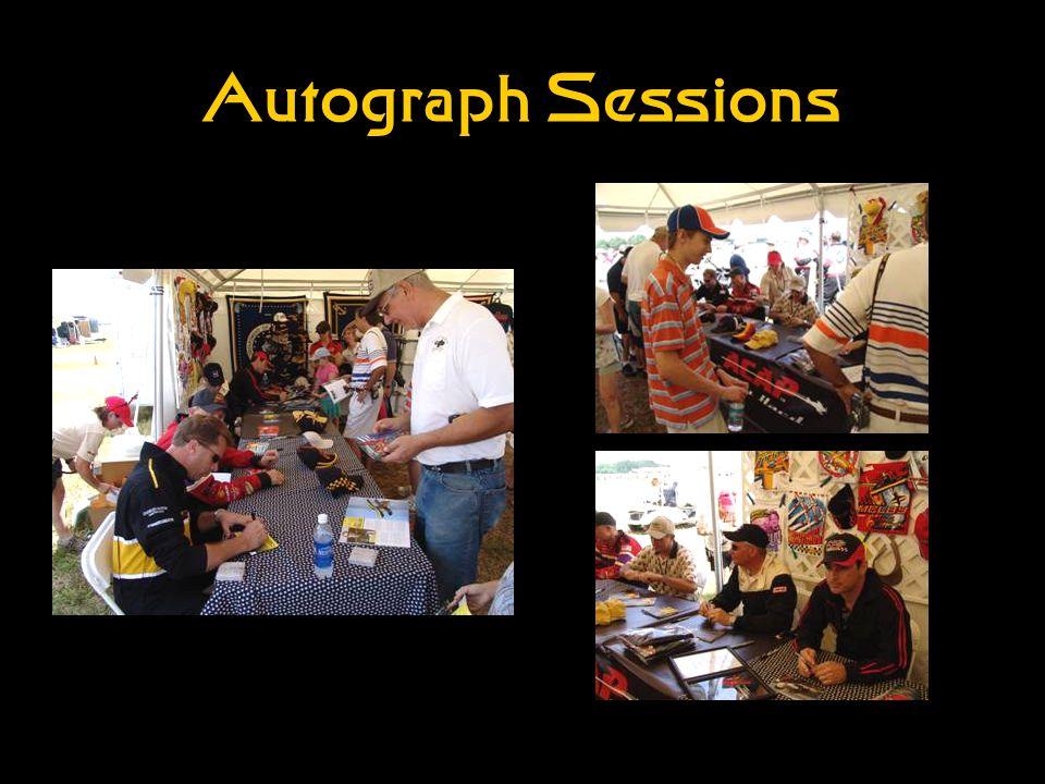 Autograph Sessions