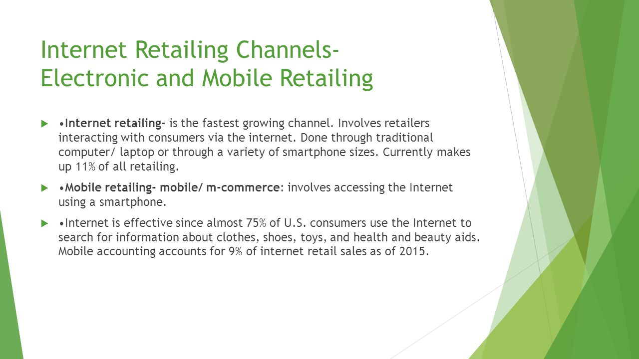 Catalog Channel Catalog channel- is a non-store retail channel in which the retail offering is communicated to customers through a catalog mailed to customers About half of U.S.